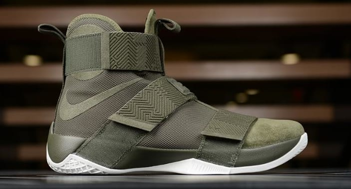 Nike LeBron Soldier 10 Lux Olive Release Date