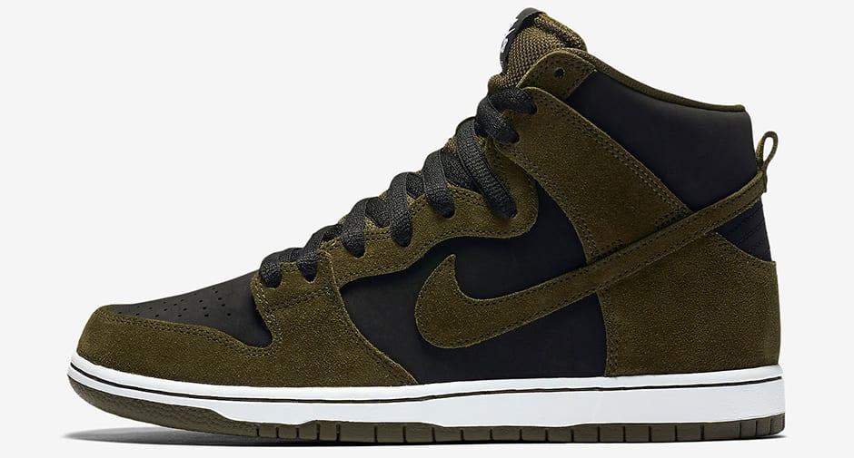 "Nike SB Dunk High ""Medium Olive"""