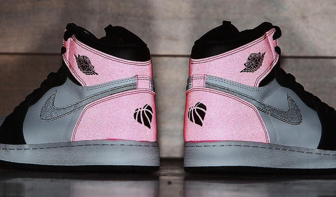 da56f39de88f Air Jordan 1 Valentine s Day Black Pink Release Date 3M 881426-009 (10)