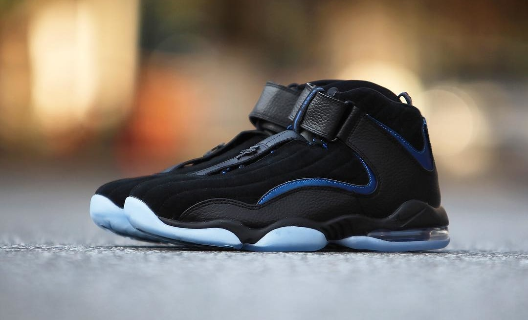 Nike Air Penny 4 Retro Black/Blue 2017 Release Date (1)