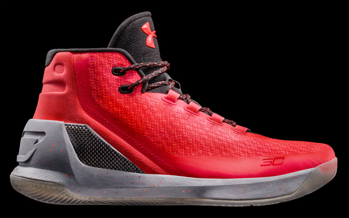 Under Armour Curry 3 Red Hot Santa Release Date Profile