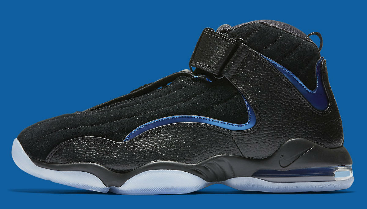 Nike Air Penny 4 Black/Blue Release Date Profile 864018-001