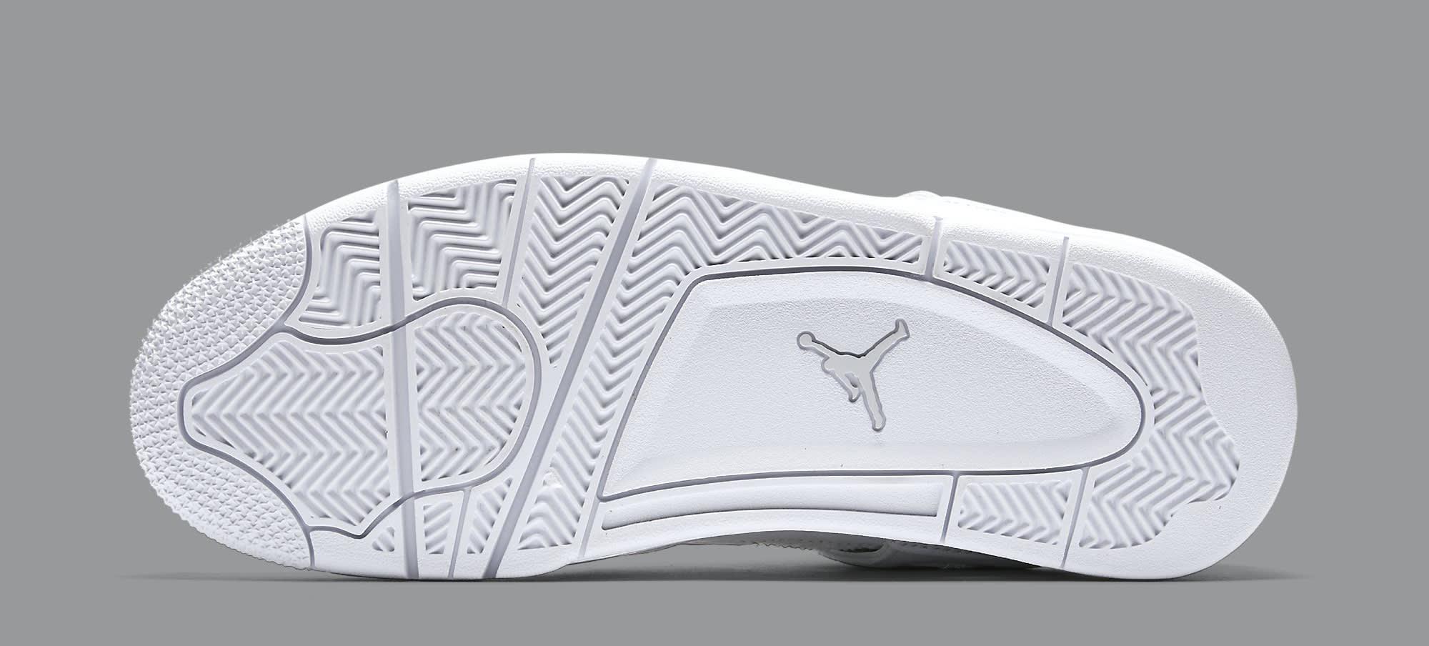 Pure Money Air Jordan 4 308497-100 Sole