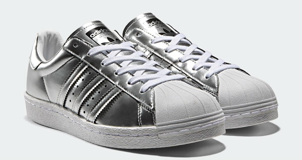 Adidas Superstar Boost Womens Silver Release Date Main BB2271