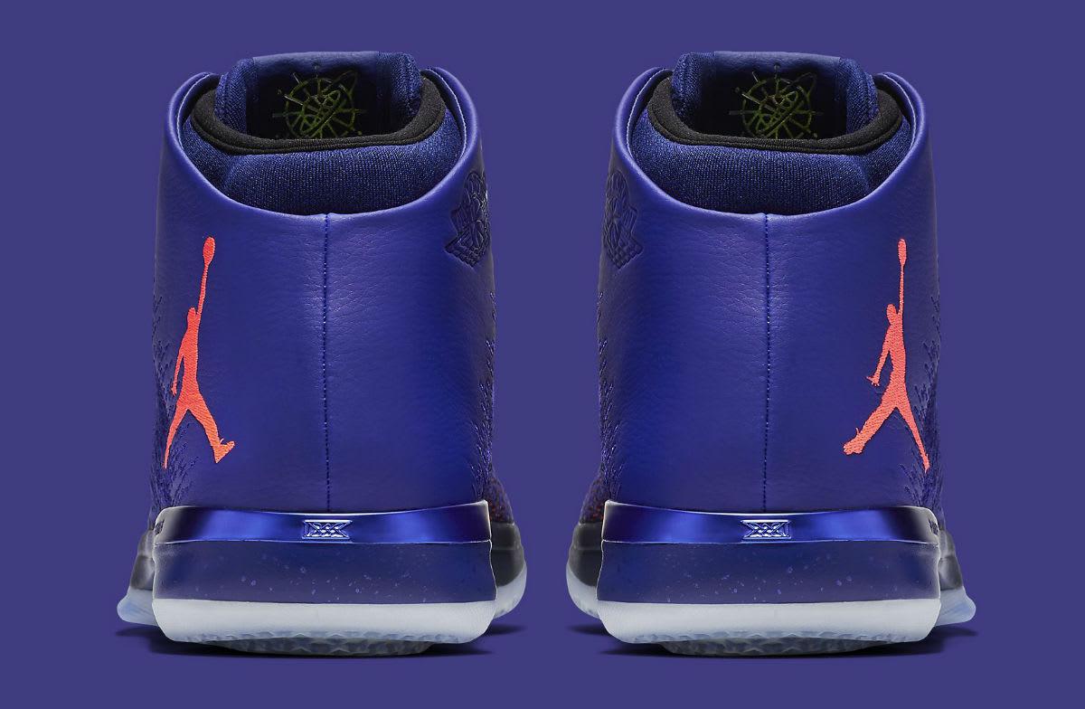 Air Jordan 31 Supernova Release Date Heel 845037-400