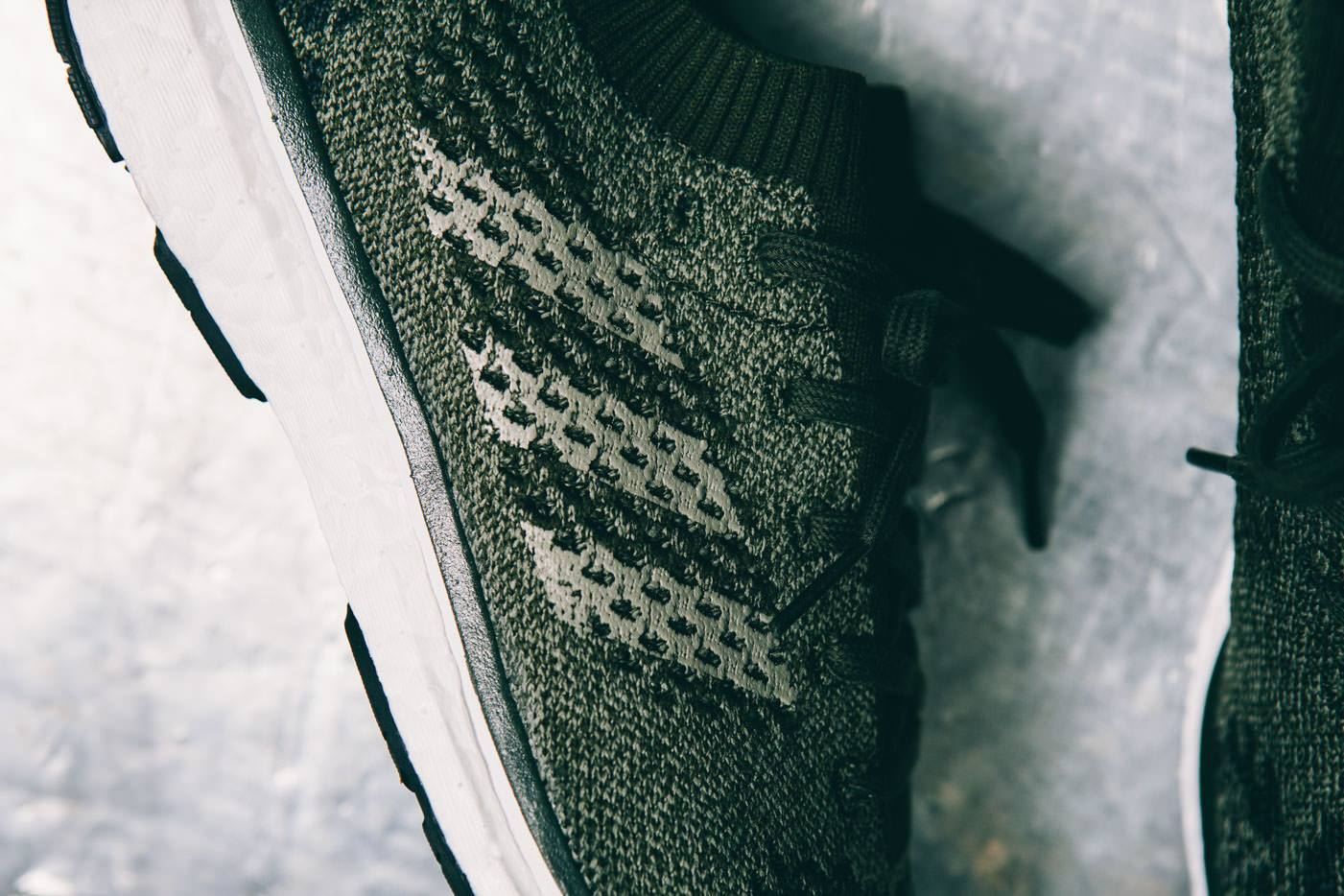 premium selection 066f5 15bd2 Image via Up There Store Adidas Adizero Prime Boost Olive Earth Stripes