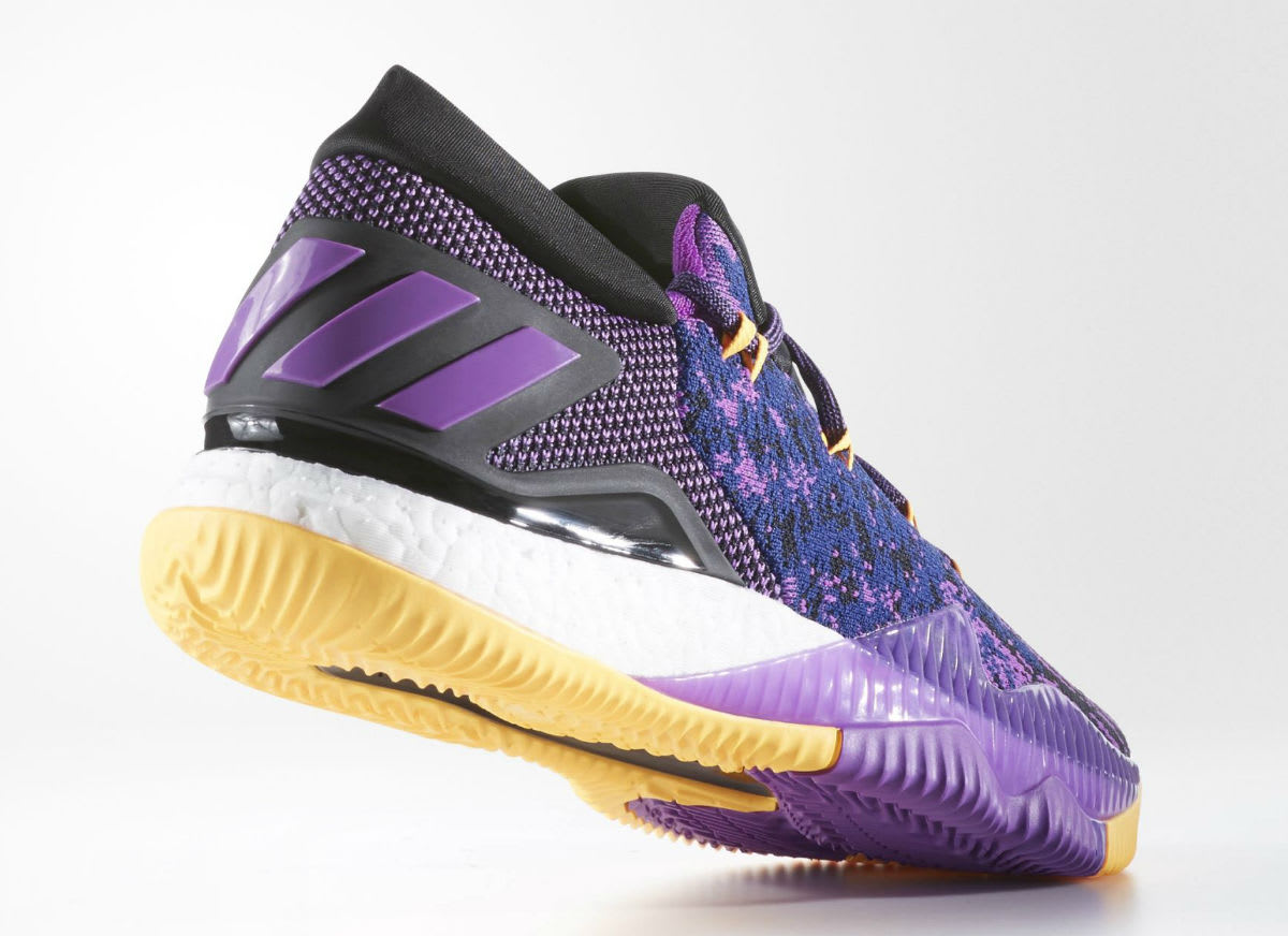 Adidas Crazylight Boost Swaggy P Lakers Lateral BB8175