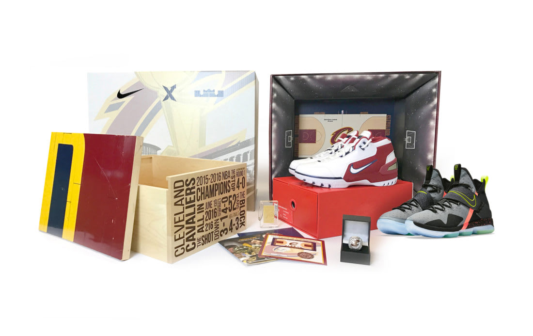 StockX Nike Air Zoom Generation LeBron 14 Charity Auction Pack