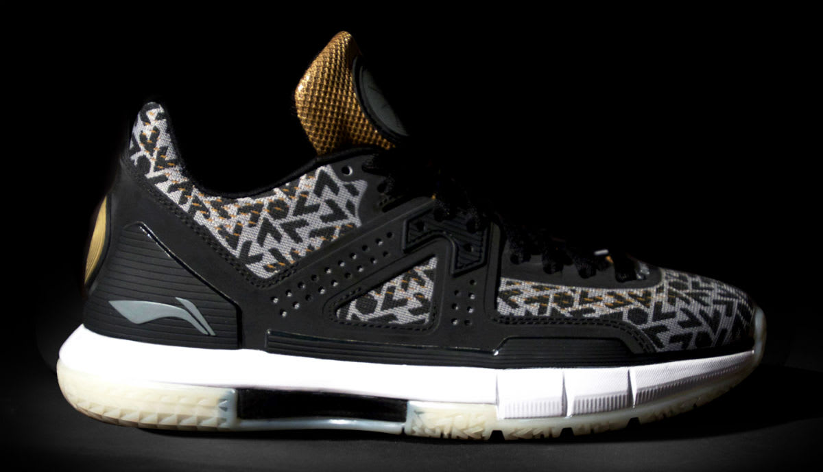 Li-Ning Way of Wade Birthday Release Date Side