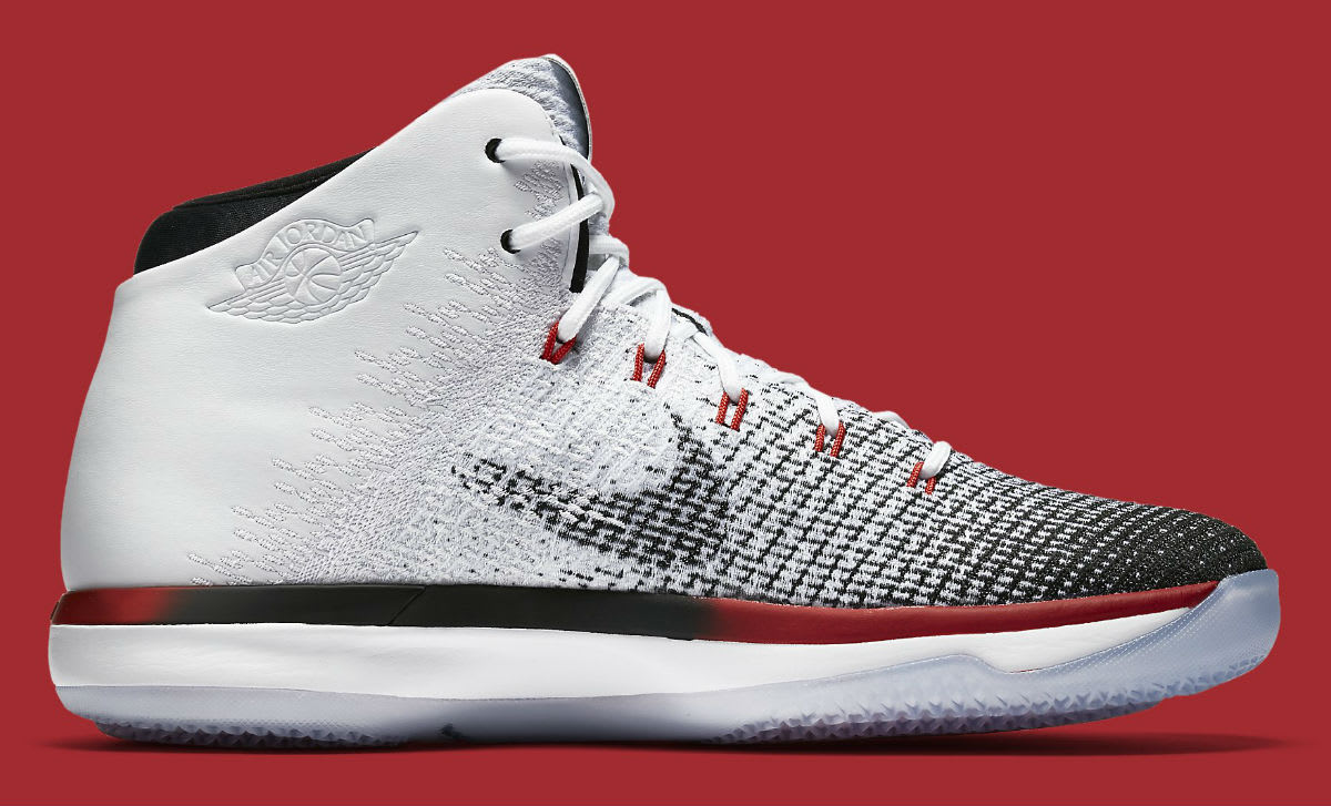 Air Jordan 31 Bulls White Black Red Release Date Medial 845037-108
