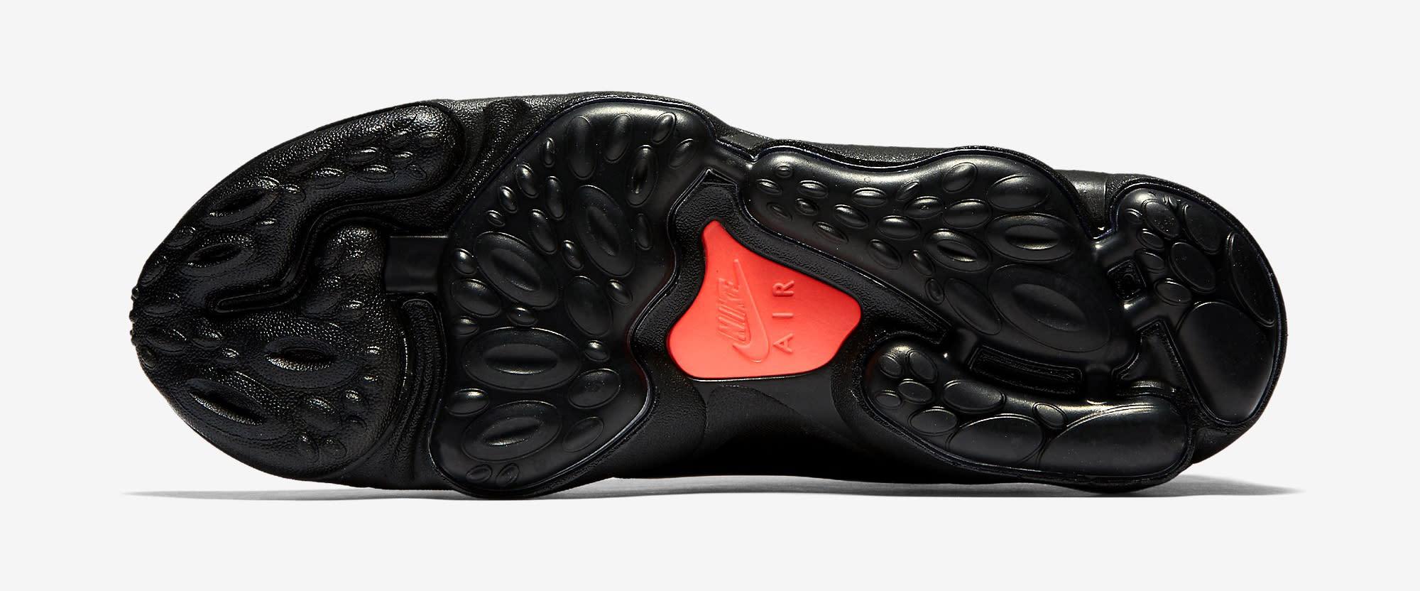 Nike Zoom Spiridon Ultra Black 876267-002 Sole