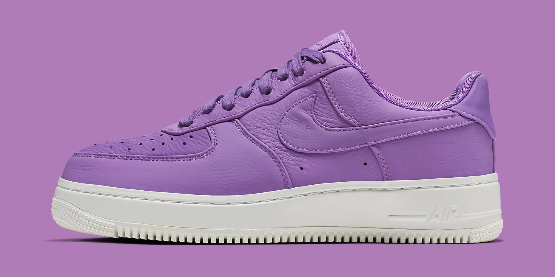 Nike Air Force 1 Low Purple Stardust 905618-500 Profile