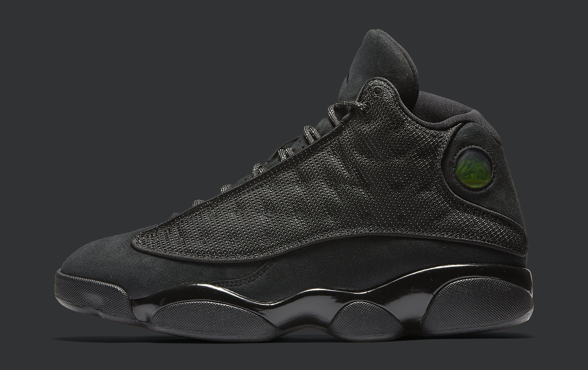 09614f9c871 Image via Nike Black Cat Air Jordan 13 414571-011 Profile