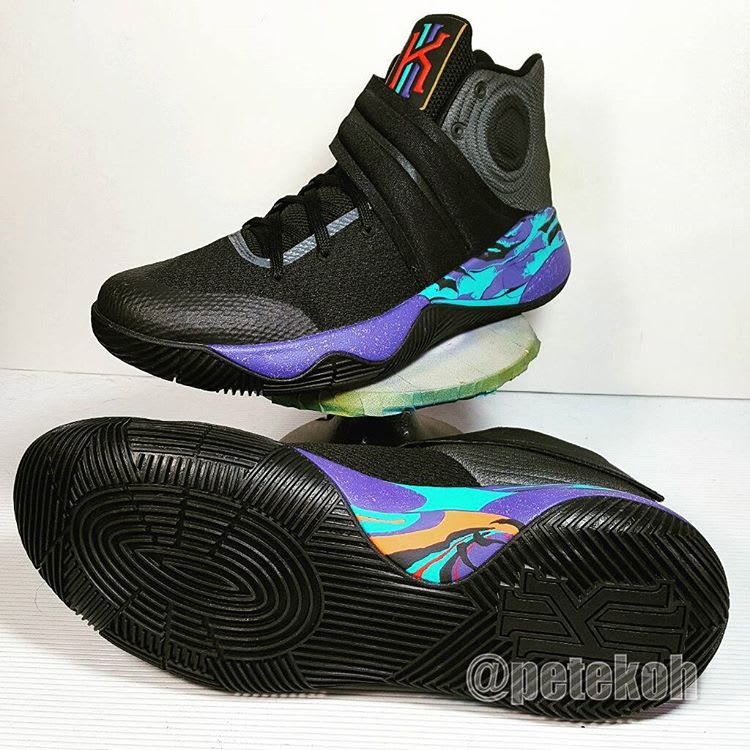 Nike Kyrie 2 Aqua Jordan Custom (3)