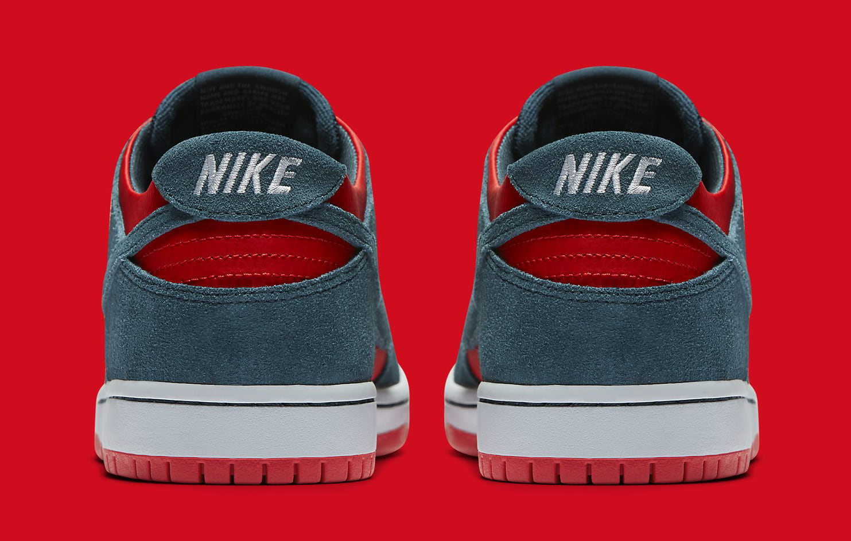 Un Shark Nike SB Dunk Low 854866-336 Heel
