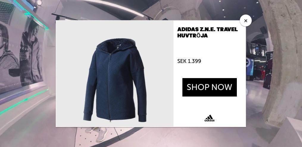 Adidas 360 Shopping
