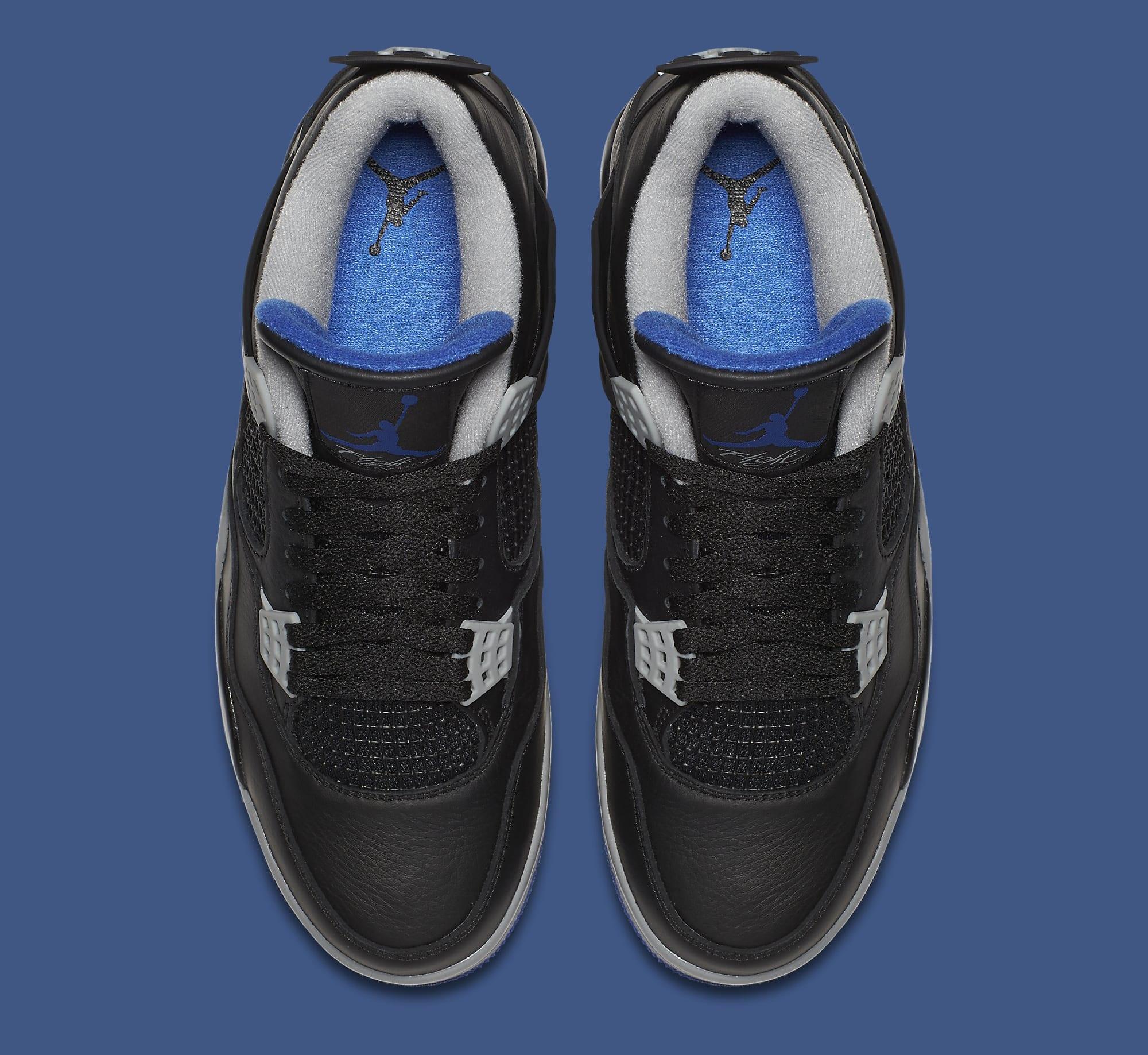 Air Jordan 4 Black Royal 308497-006 Top