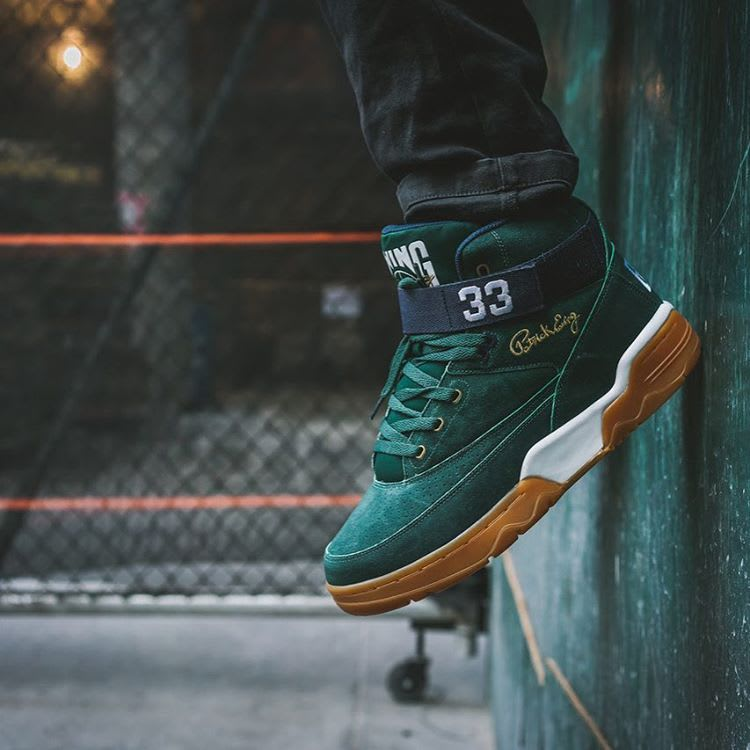 Ewing 33 Hi Green/Navy-Gum Left