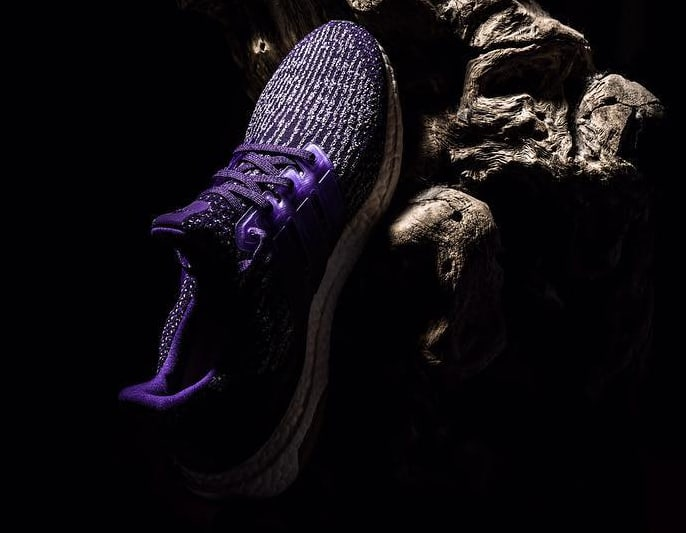 Purple Adidas Ultra Boost