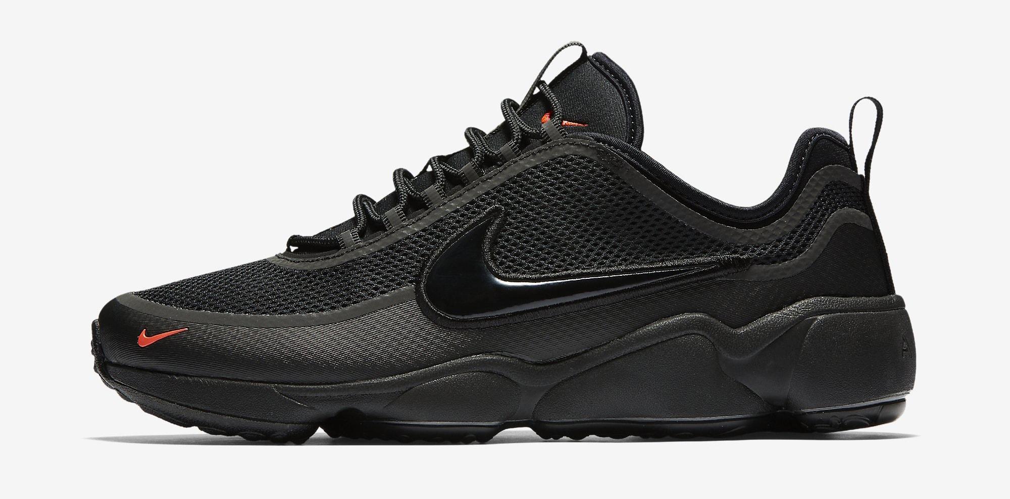 Nike Zoom Spiridon Ultra Black 876267-002 Profile