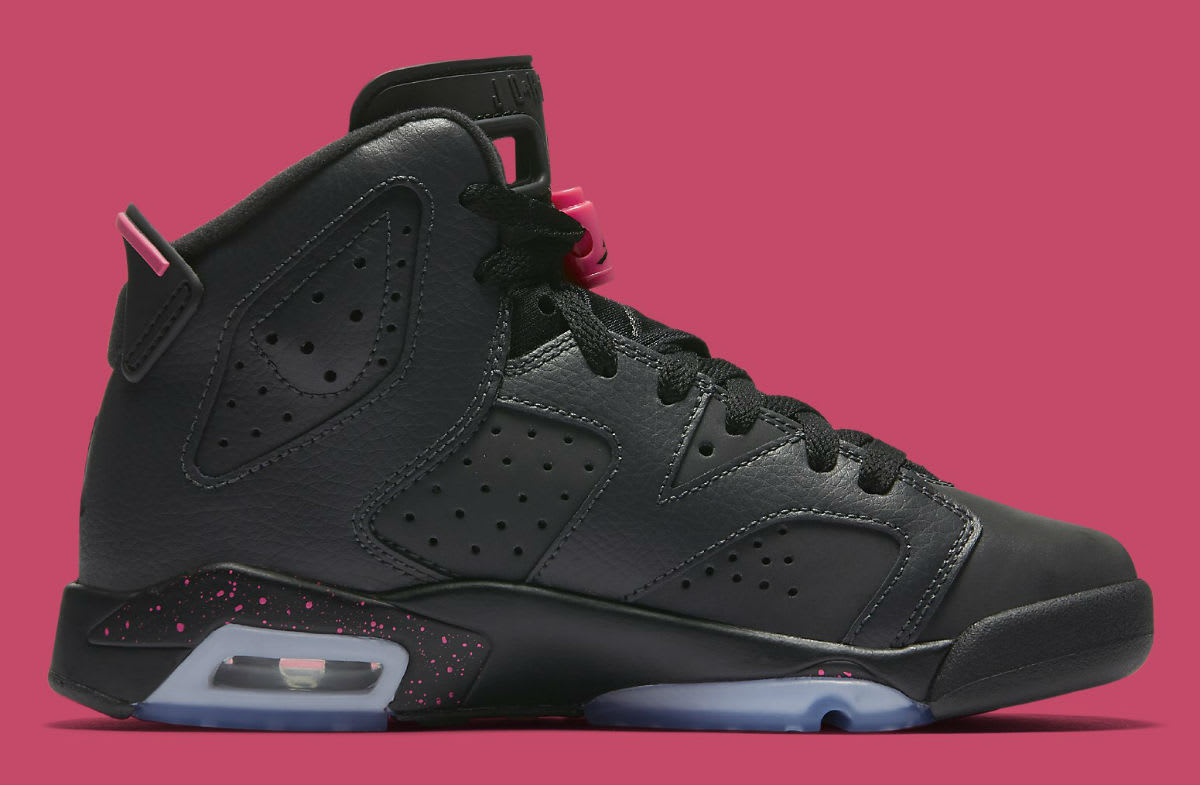 Air Jordan 6 GS Hyper Pink Medial 543390-008
