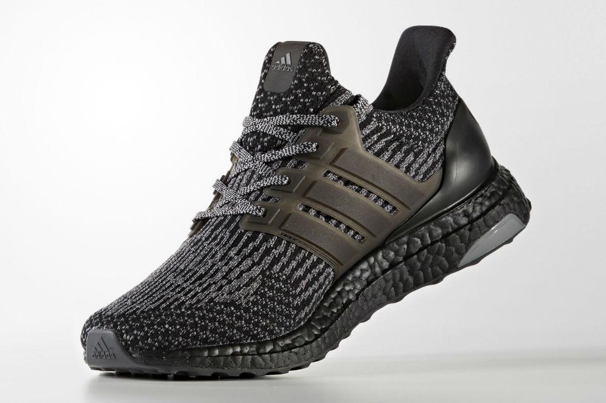 Adidas Ultra Boost 3.0 Black/Silver Medial BA8923