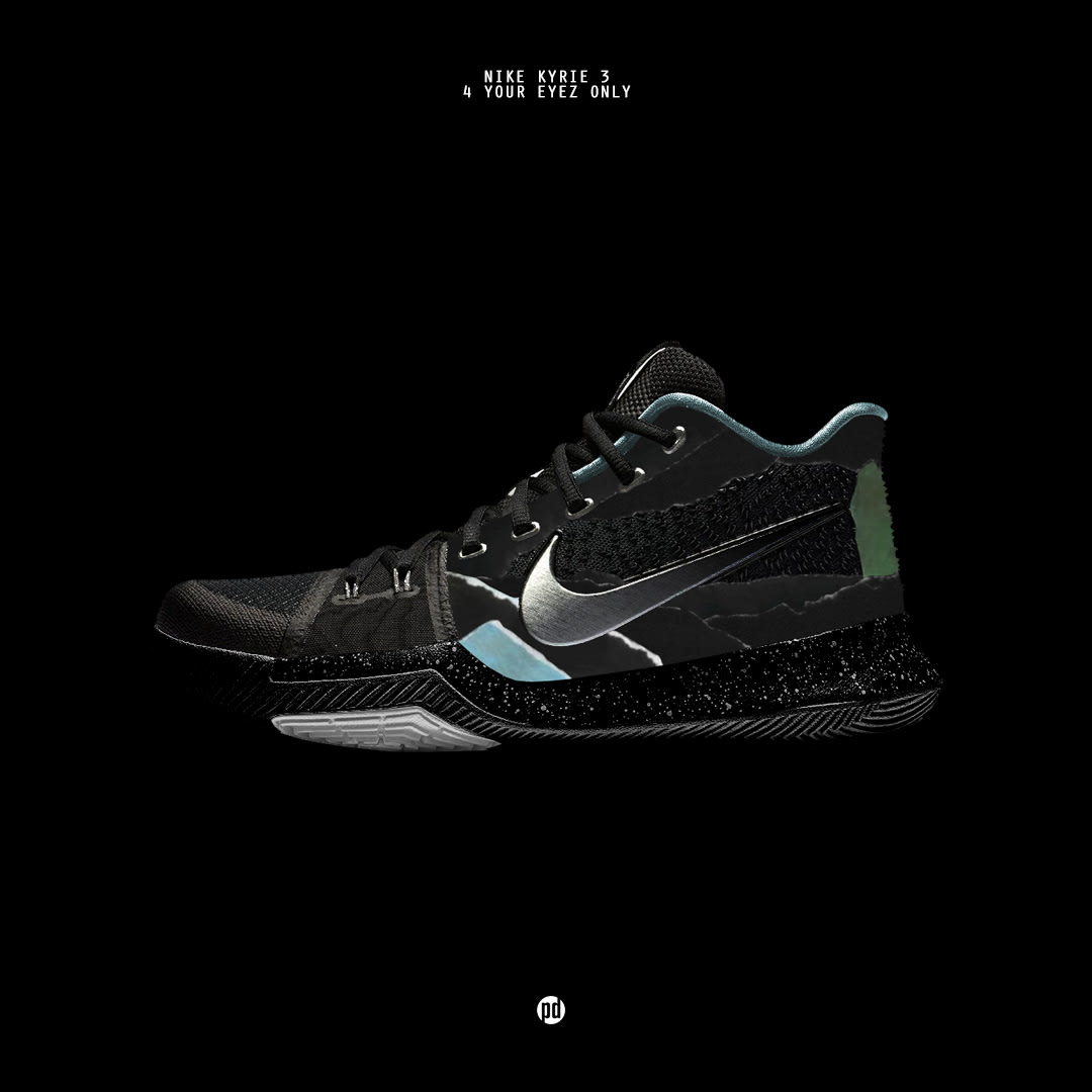 Nike Kyrie 3 x 4 Your Eyez Only