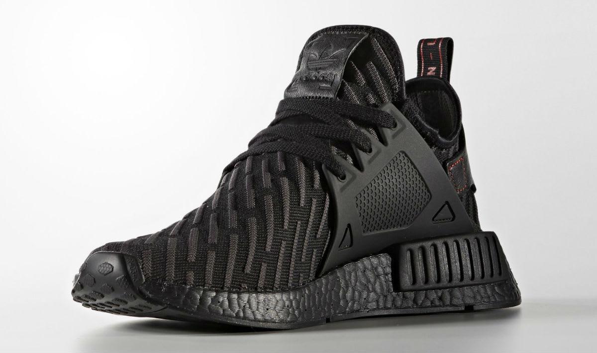 Adidas Nmd Xr1 Pk Black Red Grey sale ba7214