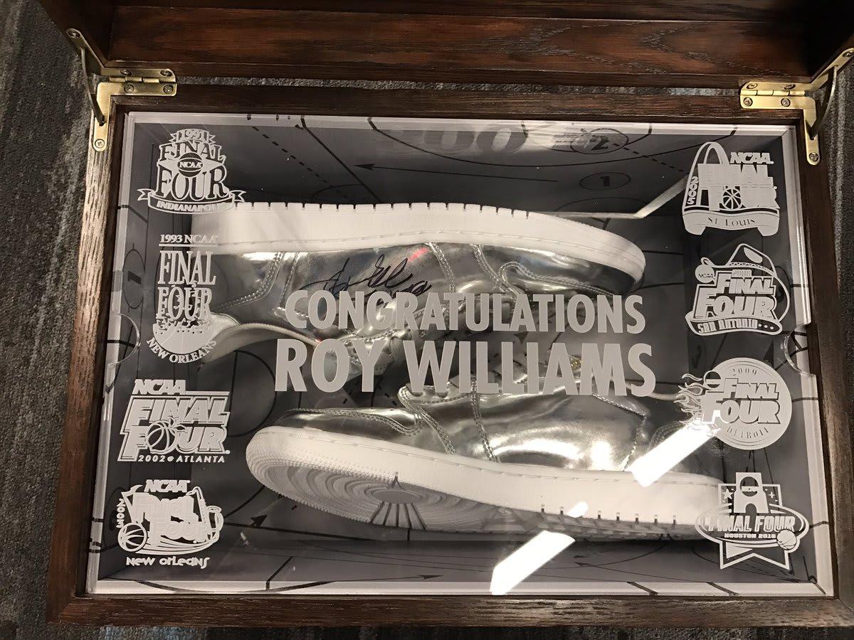 Roy Williams 800 Wins Air Jordan 1