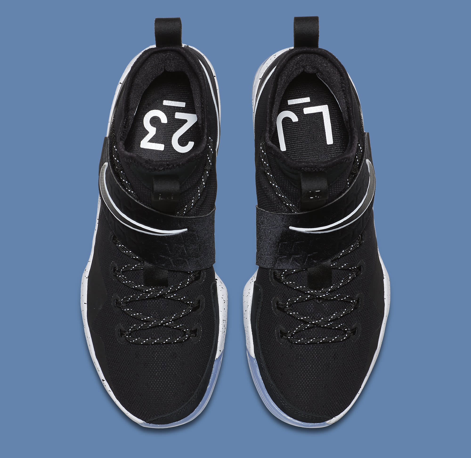 Black Ice Nike LeBron 14 921084-002 Top