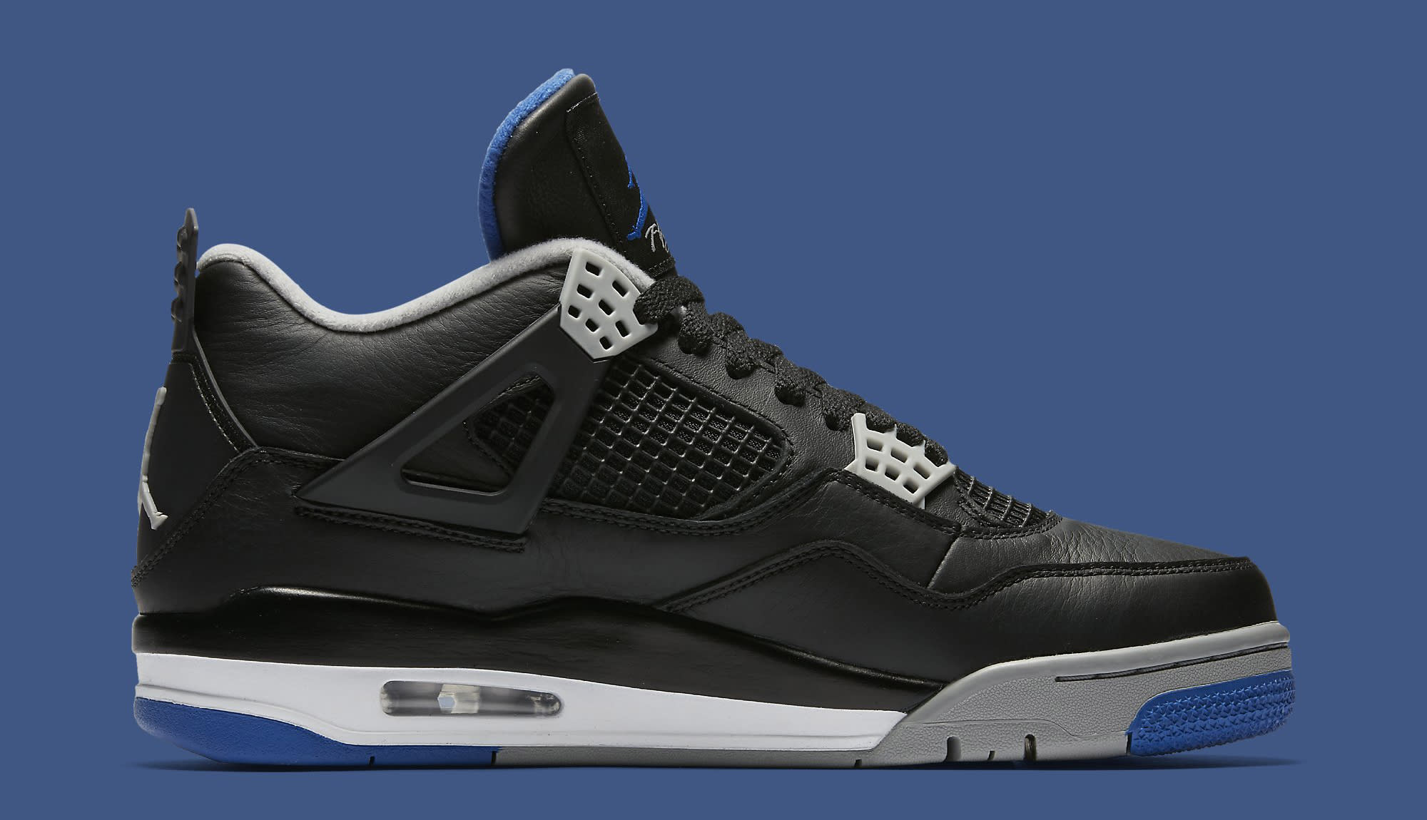 Air Jordan 4 Black Royal 308497-006 Medial
