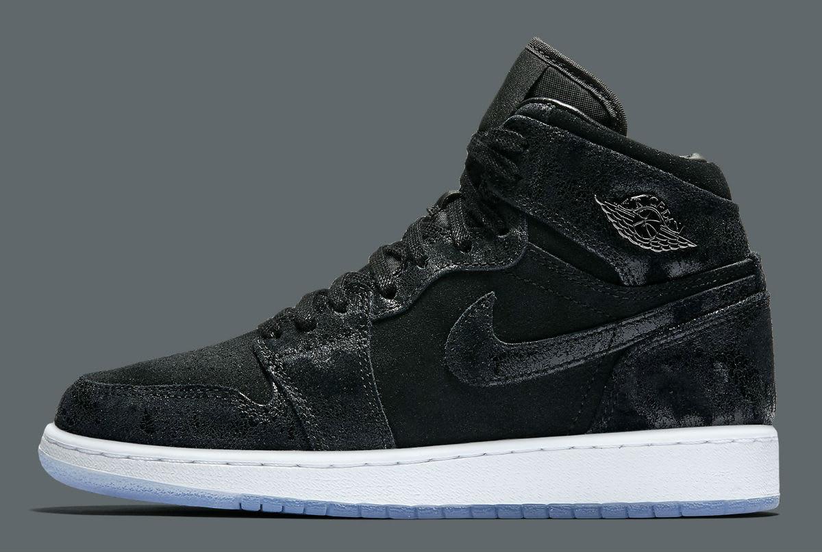 01ca64545c82b8 Air Jordan 1 Heiress Black Suede Release Date Profile 832596-001