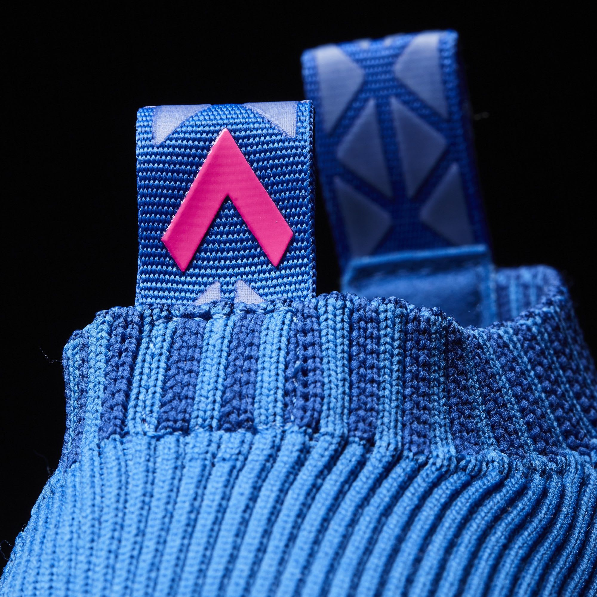 Adidas Ace 16 Pure Control Ultra Boost BY9090 Blue Pink Heel