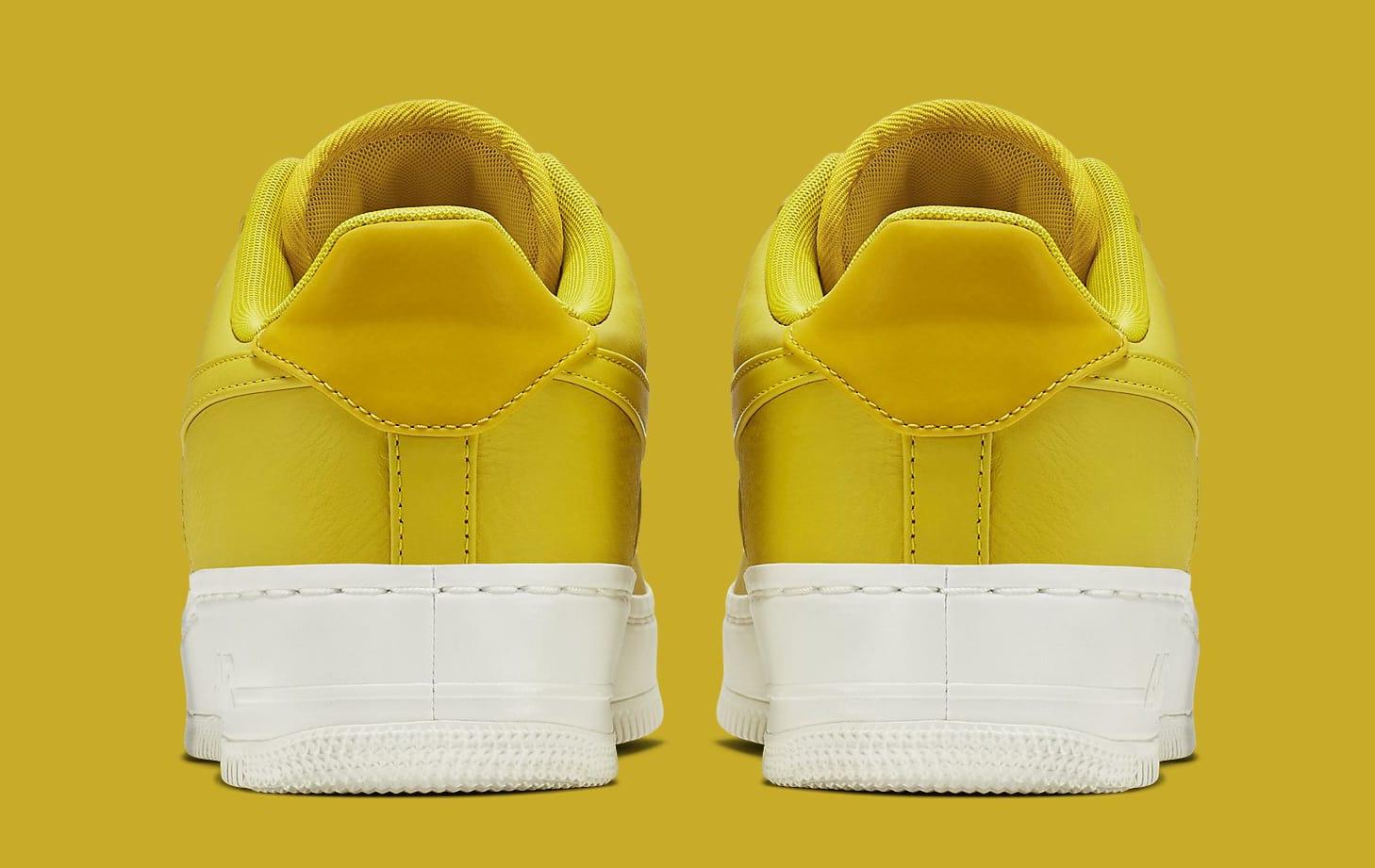Citron NikeLab Air Force 1 905618-701 Heel