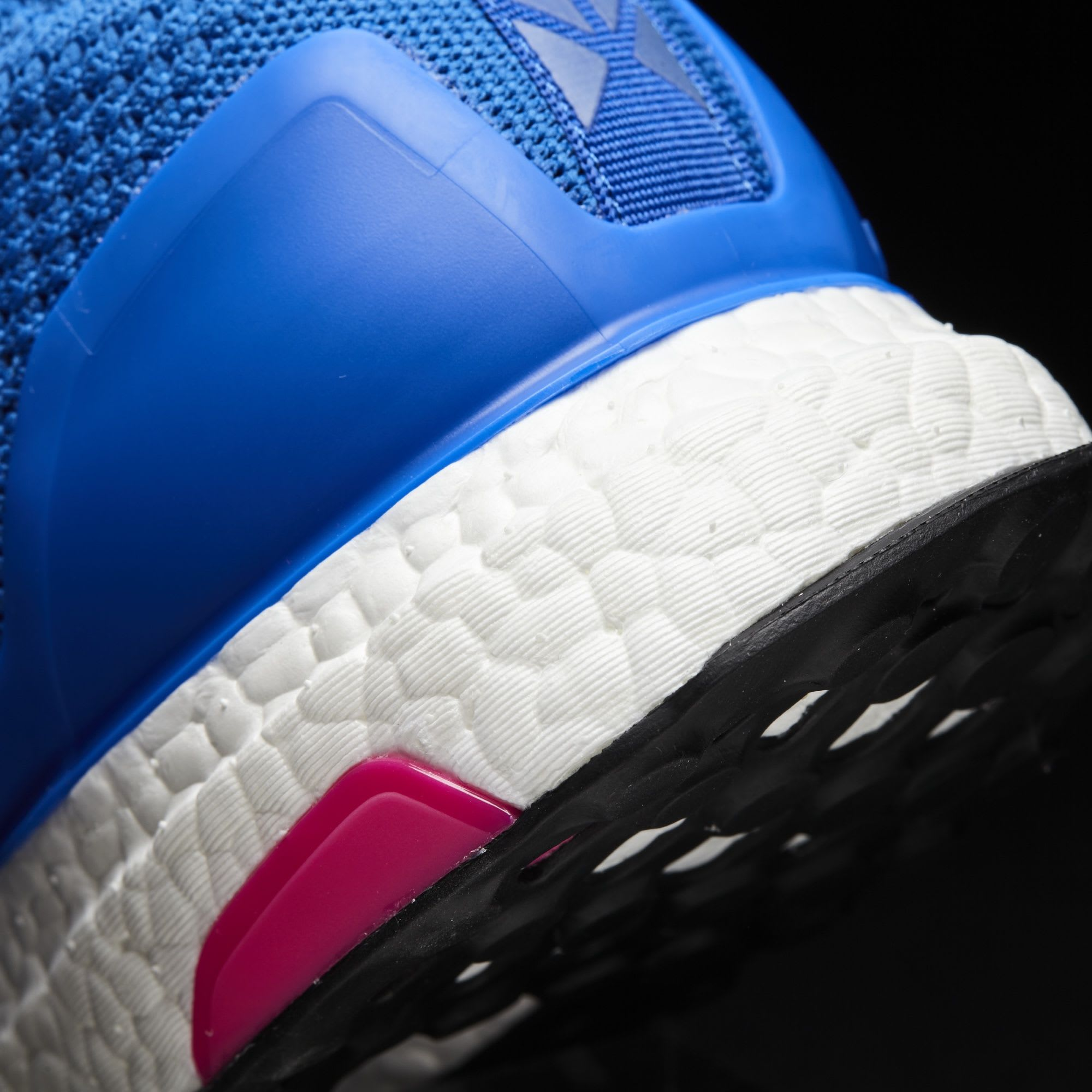 Adidas Ace 16 Pure Control Ultra Boost BY9090 Blue Pink Midsole