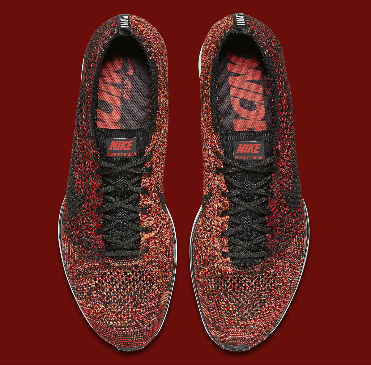 3d8eb90ceb299 ... size 13 new 526628 602 7152e 1de8a  get nike flyknit racer university red  black mango release date top 526628 608 6b5fa d9bcf