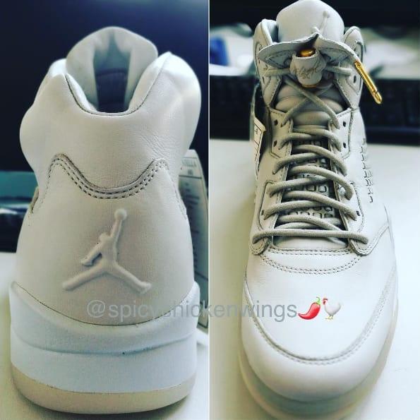Air Jordan 5 Premium White