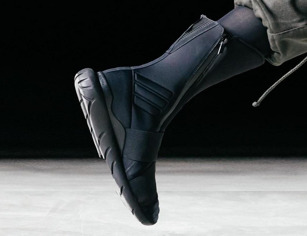 Adidas Y3 Qasa Elite Triple Black