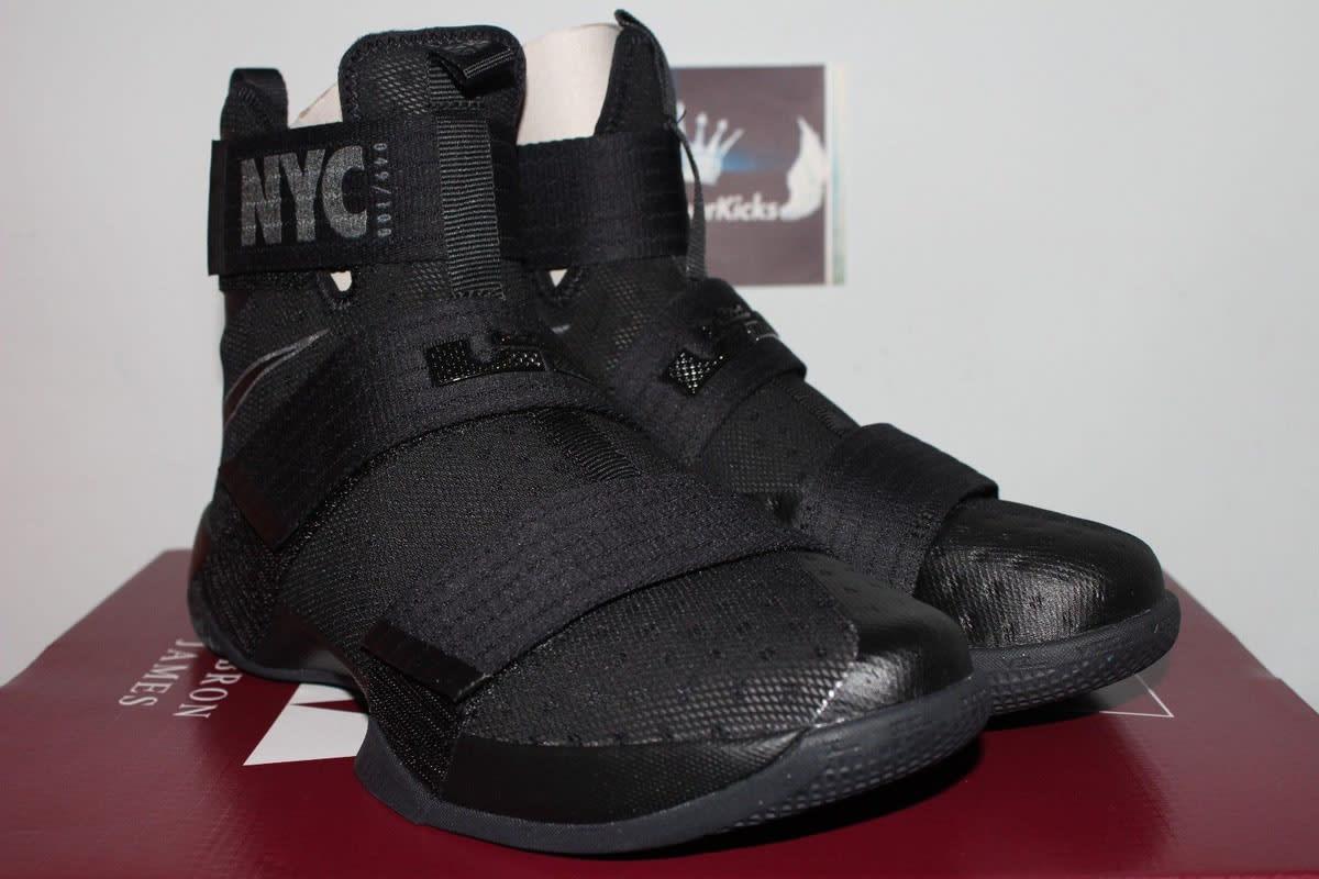 Nike LeBron Soldier 10 NYC Blackout (4)