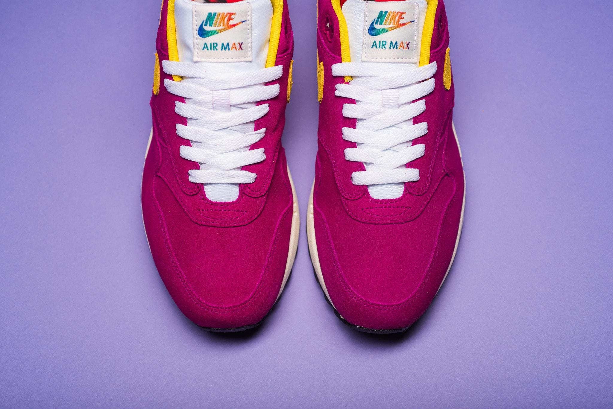 Nike Air Max 1 Dynamic Berry Vivid Sulfur Toe