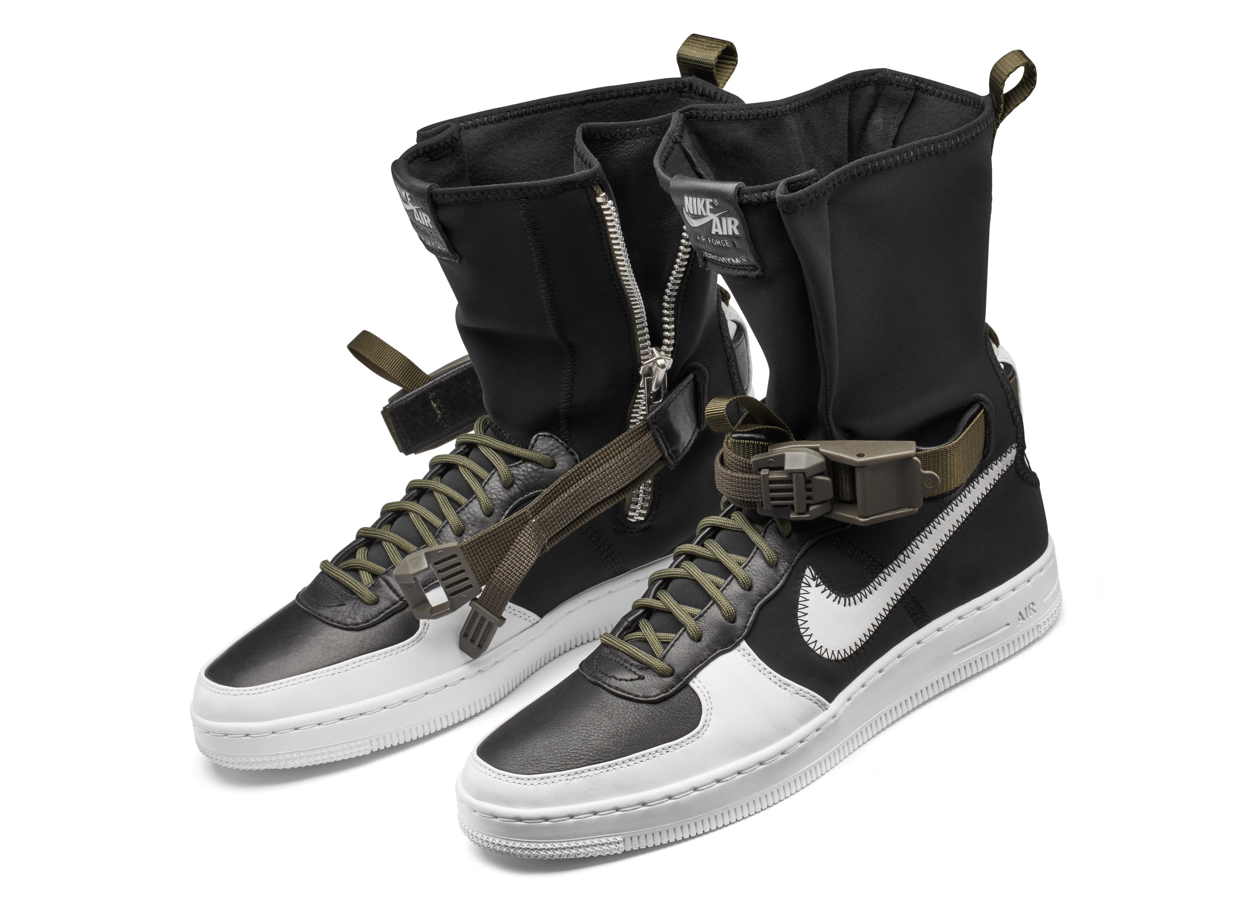 on sale b66d5 d8444 NikeLab Air Force 1 Acronym White Black