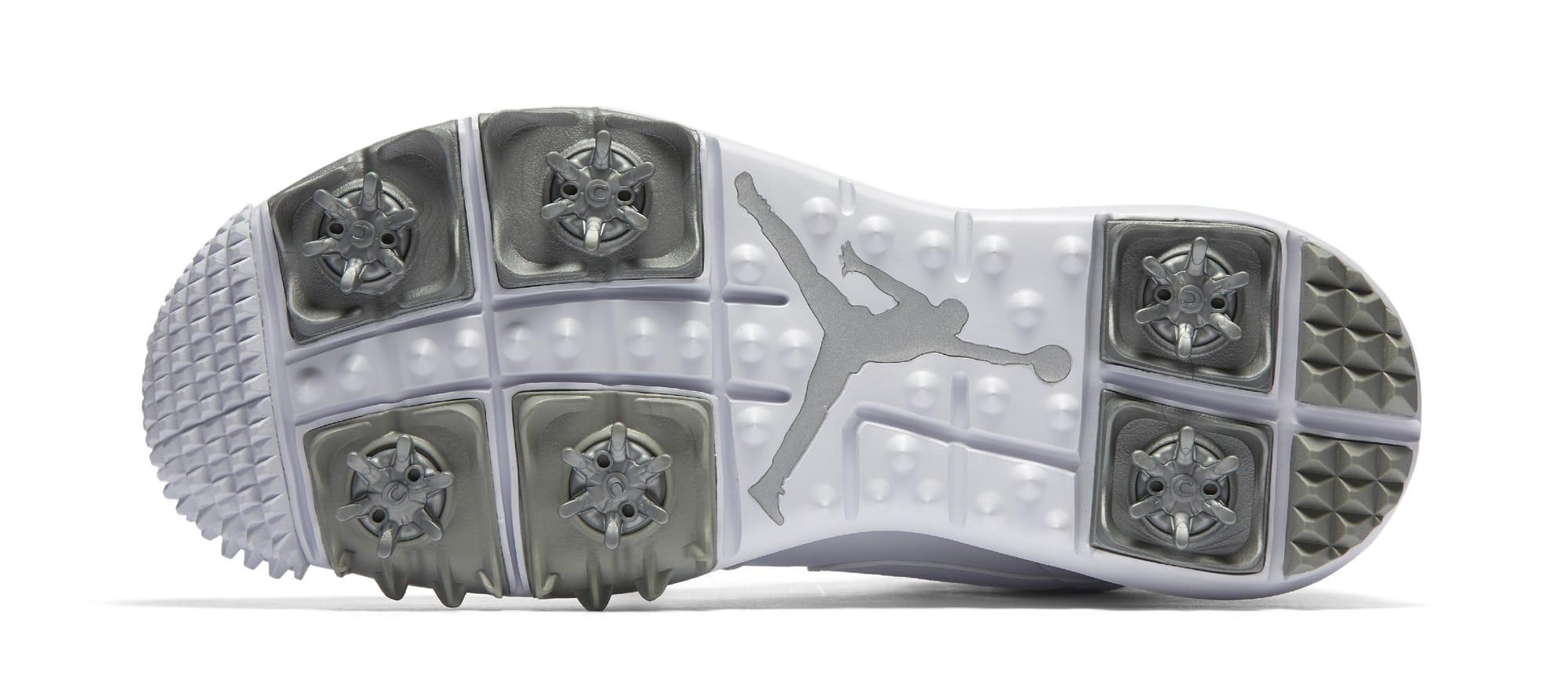 77bb402ed04fd2 Image via Nike White Air Jordan 1 Golf Sole