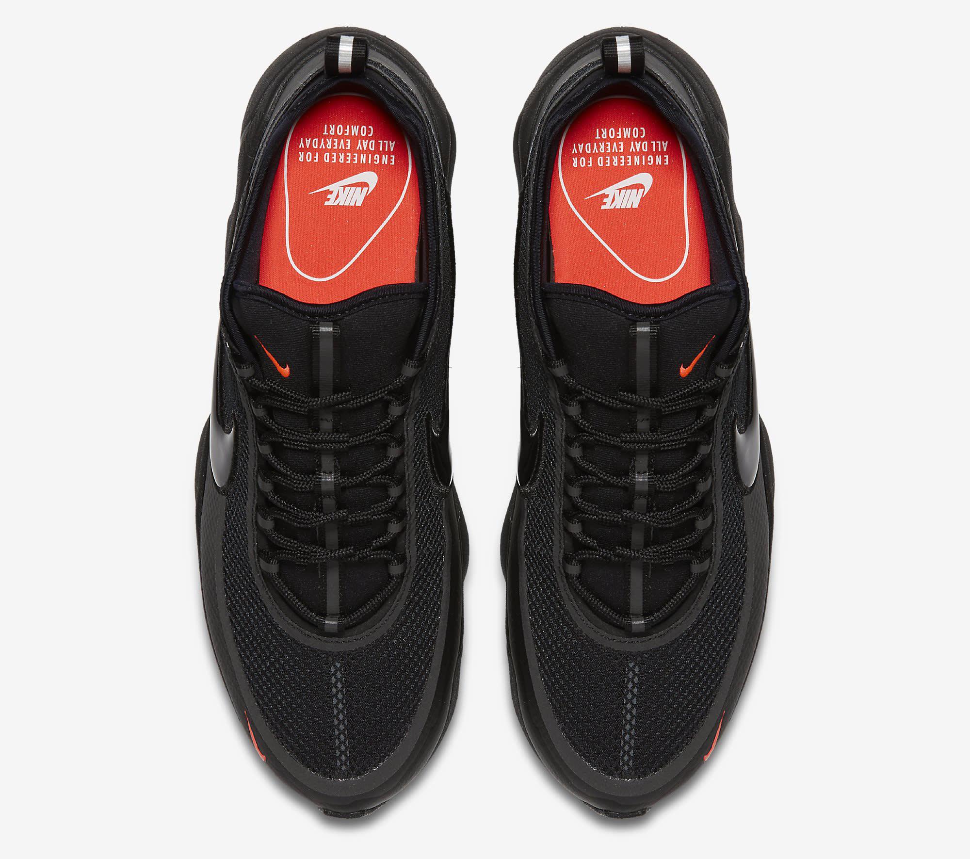 Nike Zoom Spiridon Ultra Black 876267-002 Top