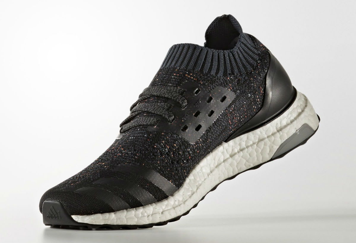 Adidas Ultra Boost Uncaged Black Multicolor Speckle Release Date Medial BA9796