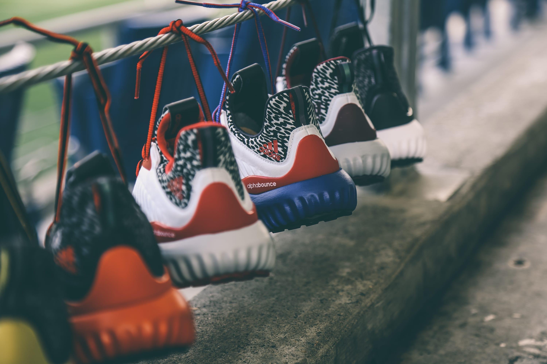 NCAA Adidas AlphaBounce set