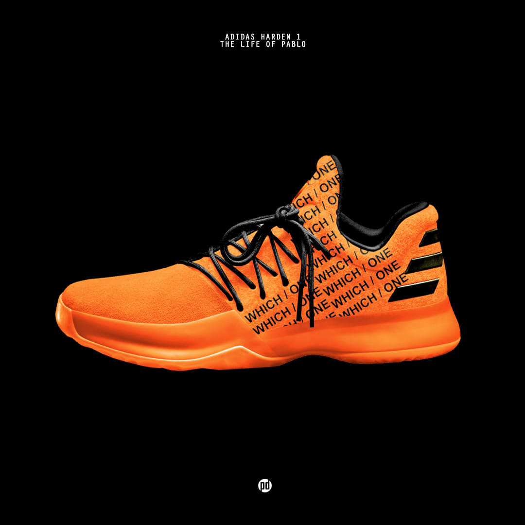 Adidas Harden Vol. 1 x The Life of Pablo