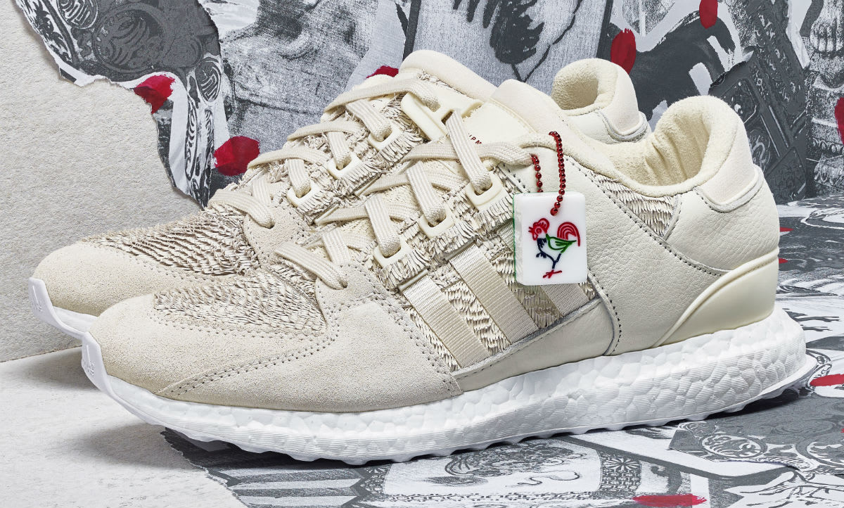 Adidas EQT Support Ultra Boost CNY Year of the Rooster Profile