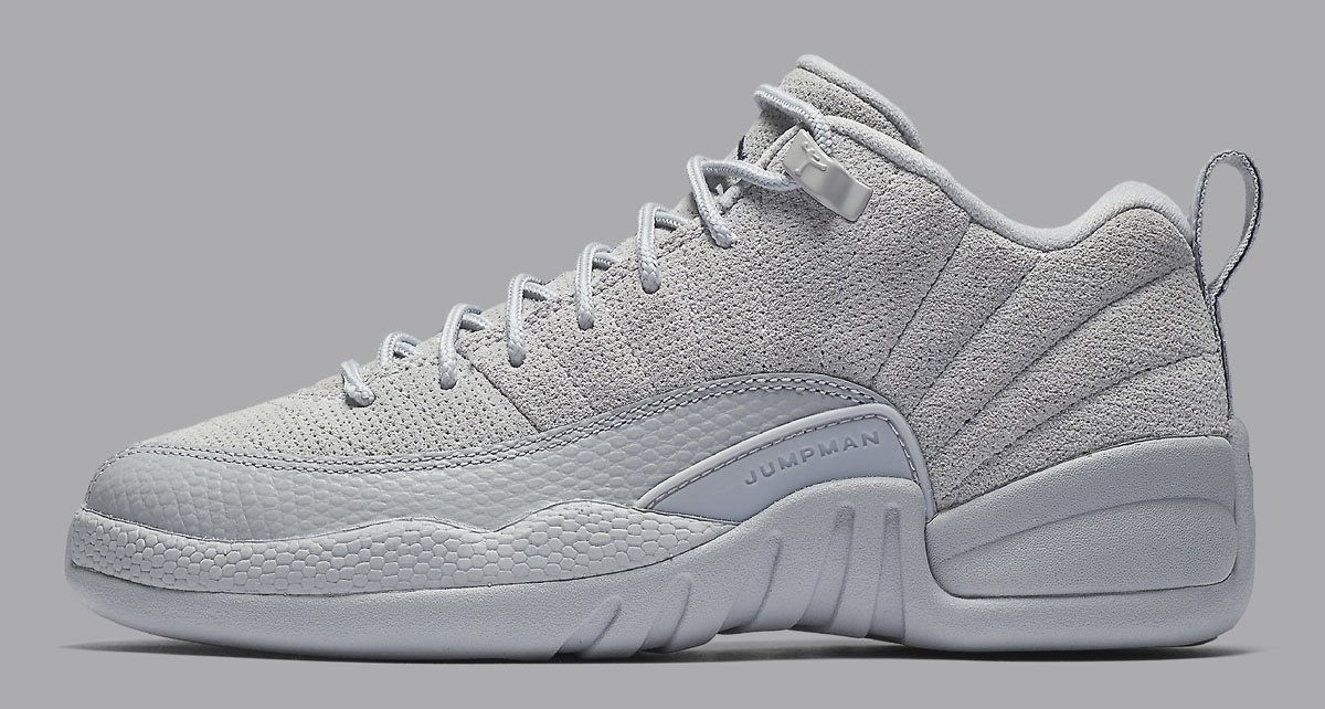 e10753e57ae Air Jordan 12 Low Wolf Grey Armory Navy Release Date 308317-002 ...
