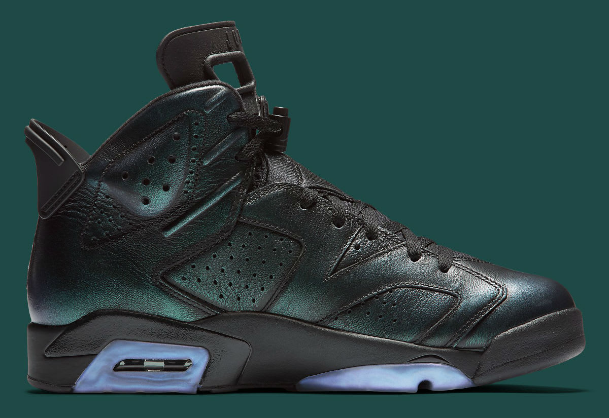 Air Jordan 6 Chameleon All-Star Release Date Medial 384664-101