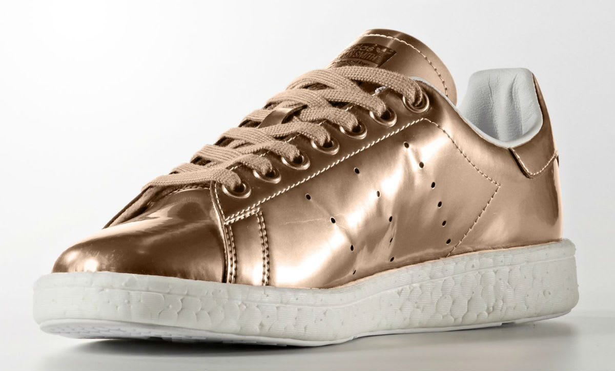 Adidas Stan Smith Boost Copper Medial BB0108